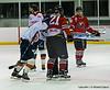 #21 Jan Majko has headlock on #47 Islanders