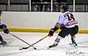 #14 David Kovar dodges the defense