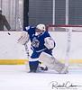 #29 Raffaele Izzo - Titans goaltender shutout crop