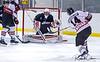 #51 MARIS SAULGRIEZIS Meaford Knights goaltender  glove save
