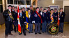 302 Royal Canadian Legion Colour Guard  and CSC Pipe & Drum Band