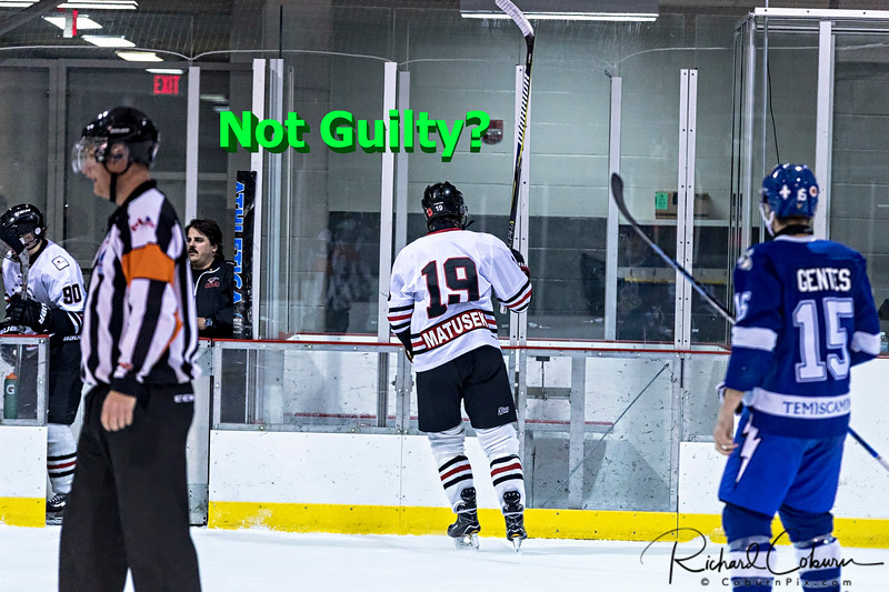 #19 Off to the Penalty Box Not Guilty question