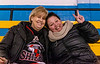 Billet Mom Wendy Davidson and Annie Lacombe the Mom of #91 Jay Rochefort of Terrebonne Quebec
