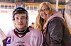 #92 Colin Carlson and former Billet Mom