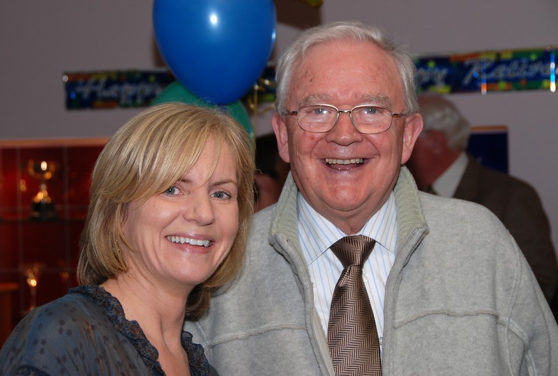 20th November 2008 - Frank Dempsey's retirement party.