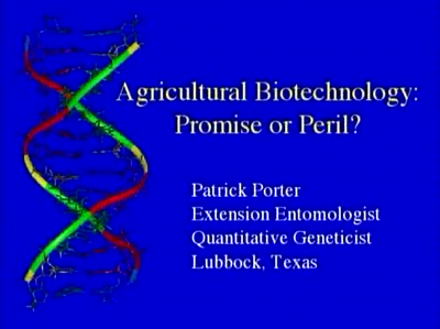 GMOs and Transgenics 2000