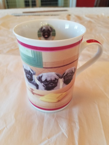 Danbury Mint Bath Time Mug