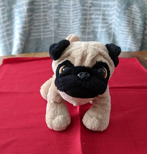 Sales Tent - Ganz Standing Plush Pug