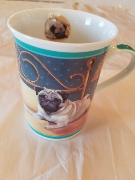 Danbury Mint Good Morning Mug