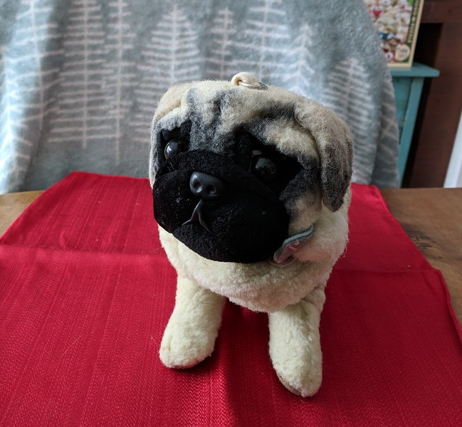 Fawn Pug Purse - missing strap