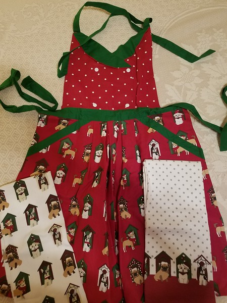Apron and Dish Towels