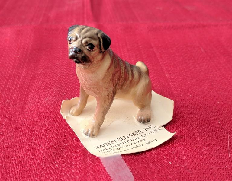 Hagen-Renaker Mama Pug Figurine