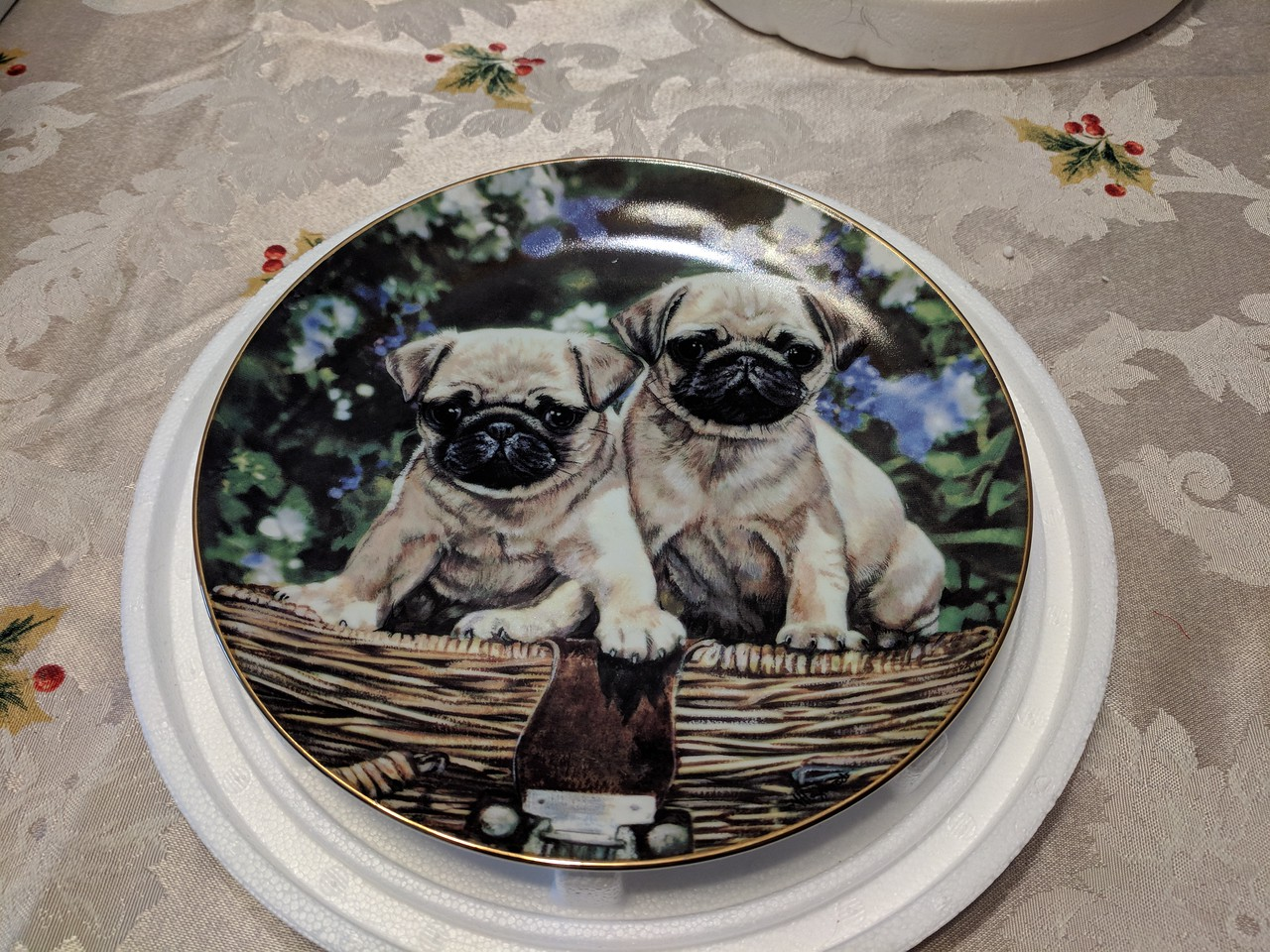 Danbury Mint Picnic Pups