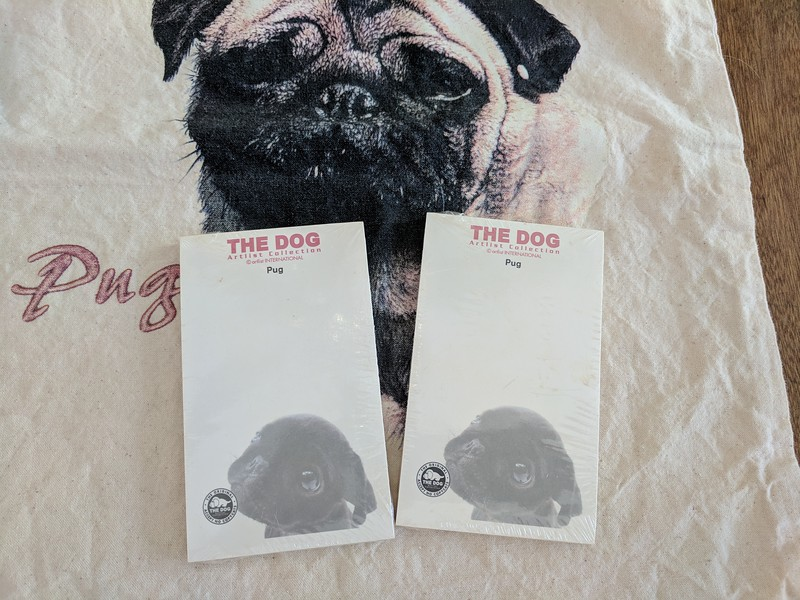 The Dog Pug Stick On Notes