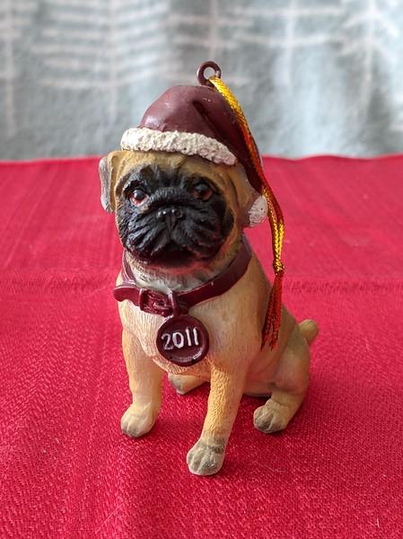 2011 Pug Ornament