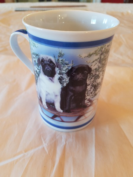 Danbury Mint Mug - Snow Day - Duplicate