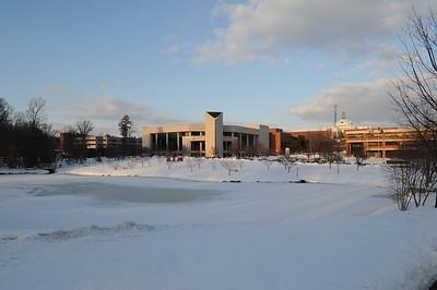 Fairfax campus snow