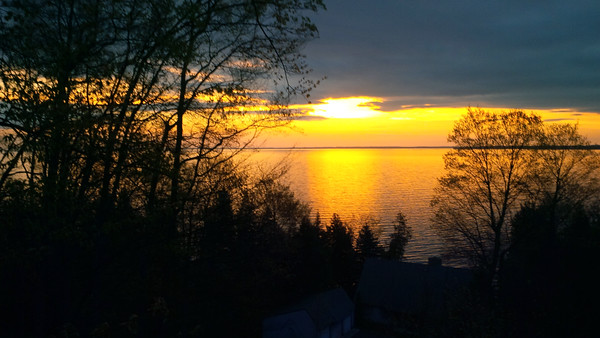 A Suttons Bay sunrise. Photo by JJ Johnson.