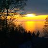 A Suttons Bay sunrise. Photo by JJ Johnson.