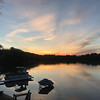 Sunset on Rennie Lake. Photo by Charley Green.