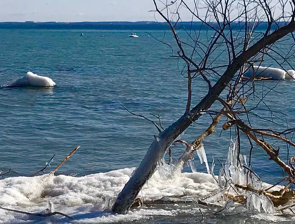 Taken at Old Mission Peninsula lighthouse. Photo by Diana Lett.