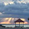 Rays of light. Photo by Mark Malcom.
