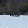 One boat on Lake Leelanau. Photo by Jennifer Grochowalski.