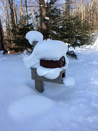 Mailbox Santa. Photo by Evelyn Harper.