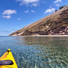 A late summer paddle to Sleeping Bear Dunes. Photo by Jon Constant.