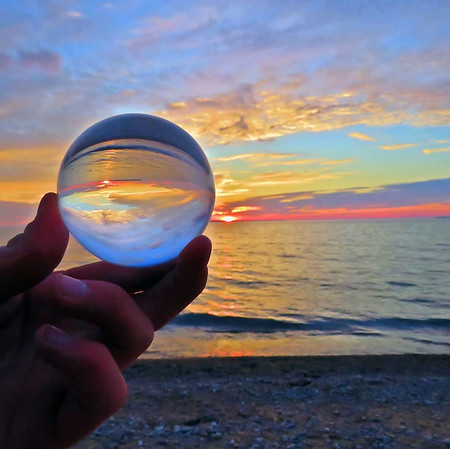 Good Harbor Beach sunset. Photo by Mike Schultz.