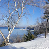 Winter on Suttons Bay. Photo by JJ Johnson.