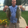 Doug James of Elk Rapids, recently caught and released his legal limit of smallmouth bass from Elk Lake.