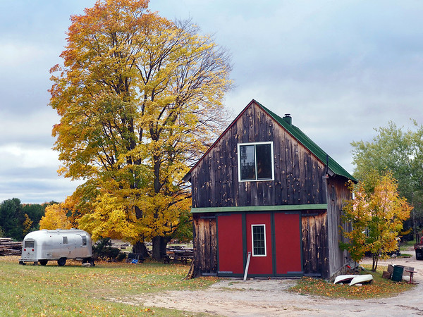 An autumn day in Bingham Township. Photo by Kathy McKinley.