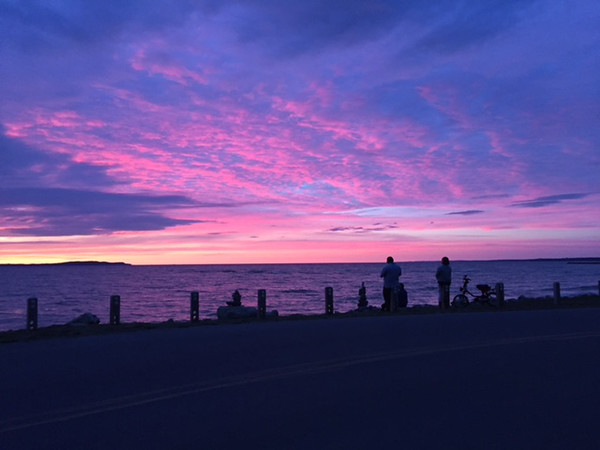 An Elk Rapids sunset. Photo by Andrea Weyhing.