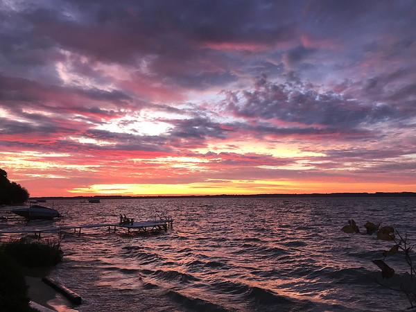 East Bay sunrise. Photo by Meg Benner.