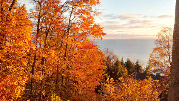A fall day on West Bay. Photo by JJ Johnson.