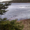 Spring thaw on Starvation Lake. Photo by Tina Reed.