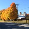 A farm just north of Cedar near Lake Leelanau. Photo by Jon R. Constant.