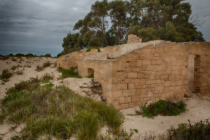part of the old telegraph station