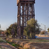Water tower at Merredin station