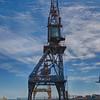 Cranes at the slipway