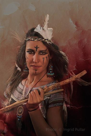 Lamia Indian warrior