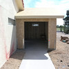 FRAMING COMPLETED WITH NEW CONCRETE DRIVEWAY FOR GOLFCART