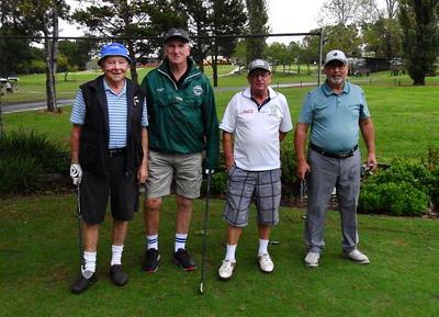 Brendan McCann, Tom Melican (Fox Hills), Allen Davies, Jose Fernandez (Richmond) DSCN0385