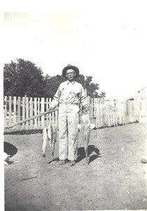 Willie and some good looking fish