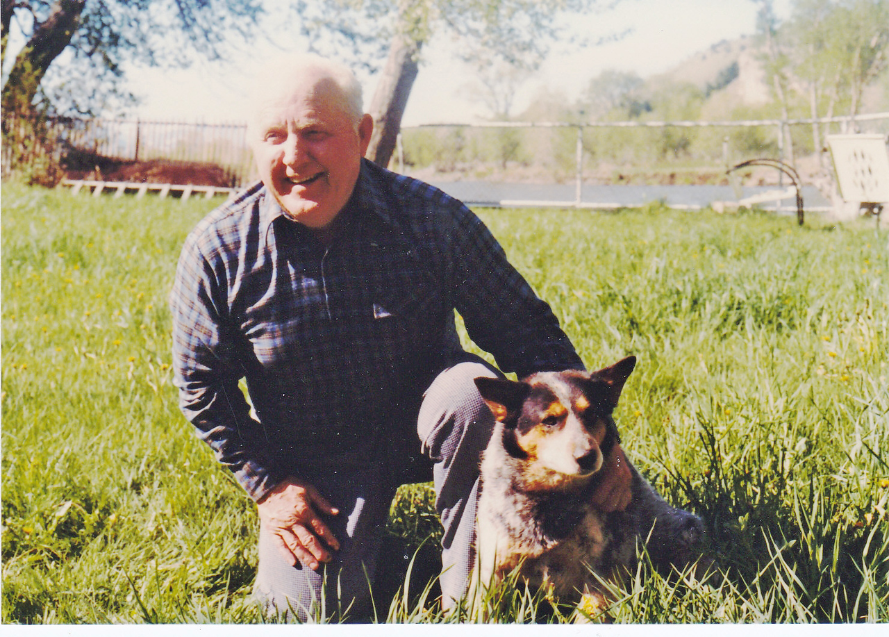 John Harper, husband of Hilda Schaak Harper