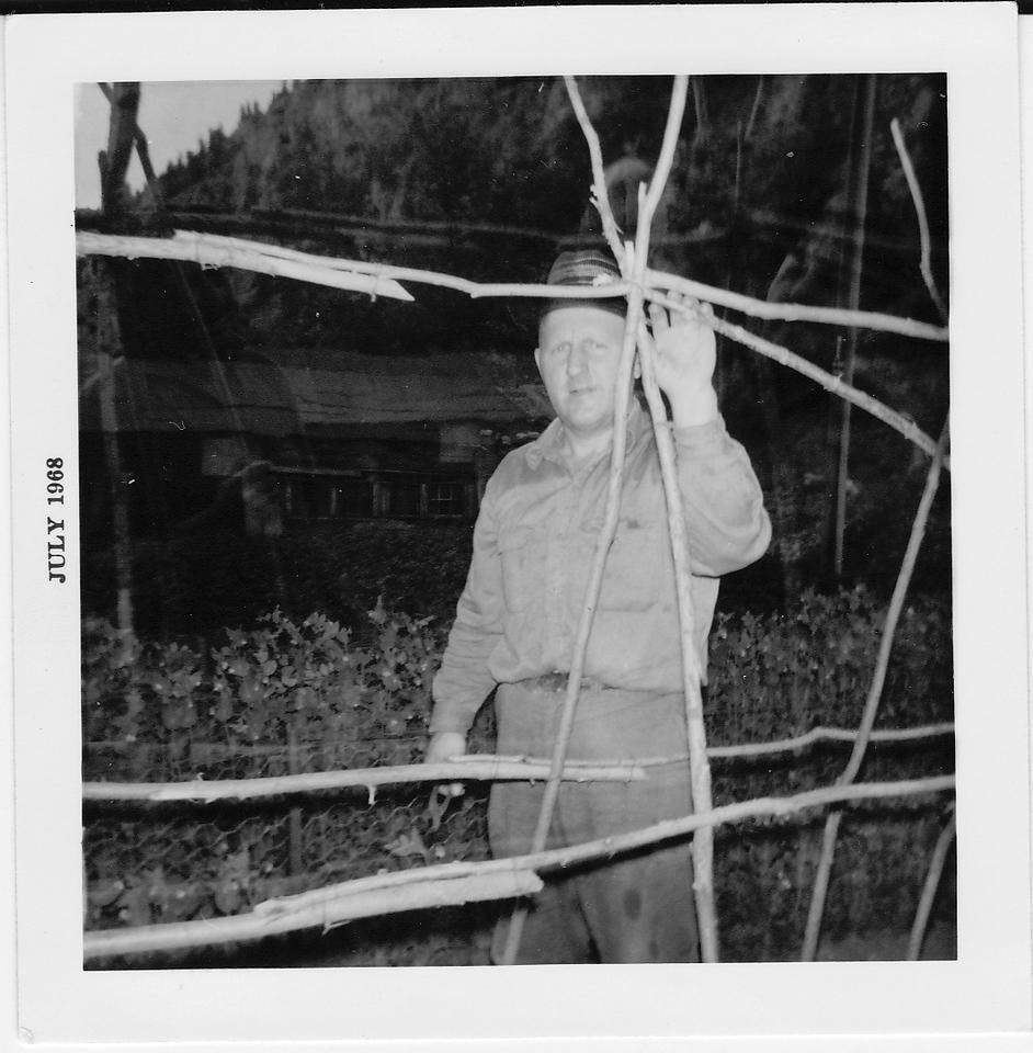Uncle John Harper, husband of Minnie Schaak Harper