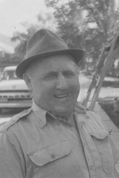Uncle John Harper, husband of Hilda Schaak (Sarah Schaak Carter's 1/2 sister)