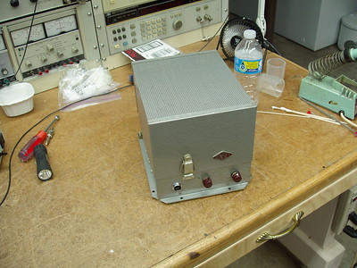 This was their AC/DC power supply and modulator.  It could be powered by 6 and 12 Volts DC, or 115 Volt AC.