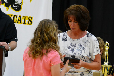 JR HIGH SPORTS RECOGNITION NIGHT 2013
